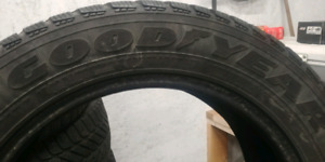 225 55 17 Good year winter ultra grip 40% tread $100