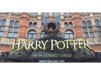 Harry Potter and the Cursed Child Front Row Tickets Part I and Part II (x2)