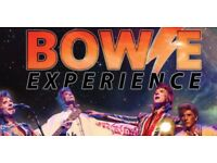4 X Bowie Experience Tickets, Wyvern Theatre, 10th March 6 Rows from Front