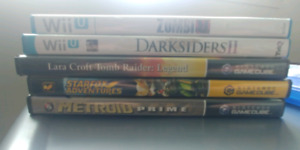 Various games- Gamecube, Wii u , ps4