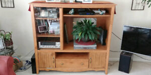 Entertainment Unit with lots of storage!