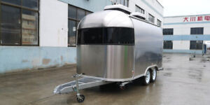 Enclosed Concession Trailer Mobile Kitchen Food Truck L 15.7ft