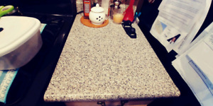 Cabinets and counter top