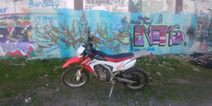 2013 Honda CRF 250L street and trail