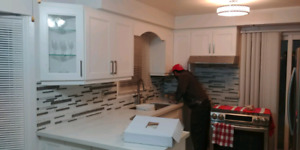 Kitchen Cabinets,Countertop,wall unit