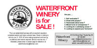 Be your own boss! - wine-making business for sale