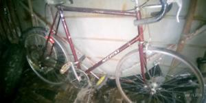 Nishiki large framed racing bike