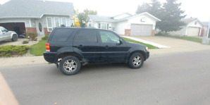 2003 ford escape .limited needs a out of province inspection