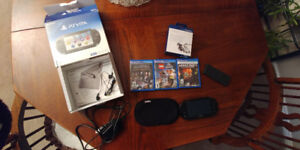 PS VITA with games and accessories    Christmas is coming !