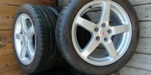 Summer Mag Tires with rims