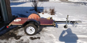 Utility Flat Trailer Custom Built