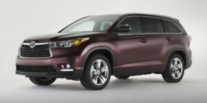 2016 Toyota Highlander XLE  - one owner - trade-in - Certified -