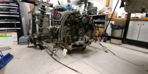 2001 boxster engine complete 2.7 litre