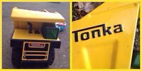5+ books, Tonka Truck, baby Tonka and other ride-on dump truck