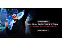"""Anthony Robbins """"Unleash the power within"""" 2017 GOLD Tickets - limited offer"""