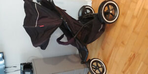 Black Phil and Teds stroller
