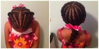 Cornrows and twists using your natural hair