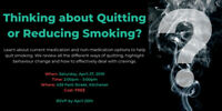 Quitting Smoking? - Free Workshop to Help You Quit