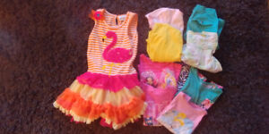 Girls 5t clothes spring and summer