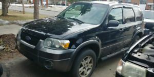 2005 Ford Escape XLT, 3L, V6, A/C and 4x4