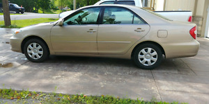 2002 Toyota camry LE low kms