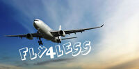 FLY 4 LESS - SAVE 30% TO 40% OFF ON ANY FLIGHTS