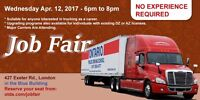 JOB FAIR / INFO NIGHT NO EXPERIENCE REQUIRED WED. APRIL 12 6PM -