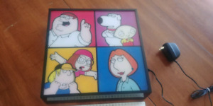 Family Guy Wall Hanging Light Box Decoration