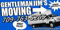 Gentleman Jim's Moving Inc..