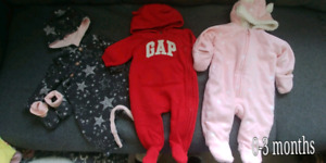 Baby girl clothing 0-3, 3 months
