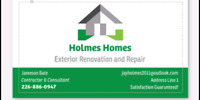 HOLMES HOMES Siding and Sofit Services