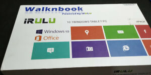 iRULU Walknbook W3 Notebook 10.1 Inch Tablet -(Windows 10 ,Intel