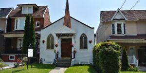 Church for Rent - St Clair and Dufferin area 73 Mackay Avenue