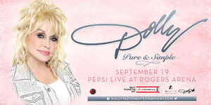 2Tickets to Dolly Parton Pure and Simple Tour