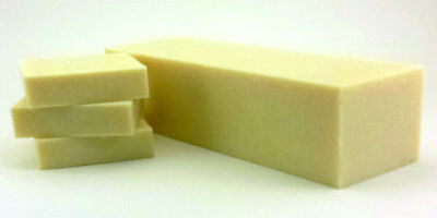 Large 6 oz. Bar Unscented Goats Milk 100% Pure and Natural