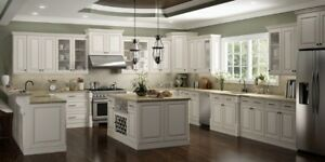 May Special, Save 10% of York Antique White Kitchen Cabinets