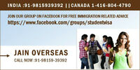 Contact Jain Overseas for Immigration Issues