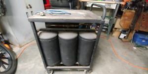 240v air compressor cart