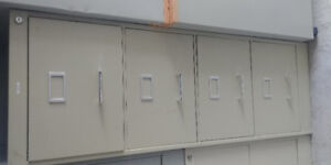 Office filing cabinets,