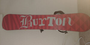 Your future BURTON SNOWBOARD size 159 The BEST deal ever!!!