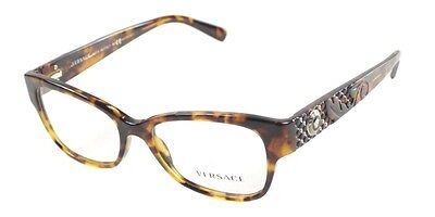 59b35bb957c2 New Versace MOD.3196 V3196 VE 3196 5074 Eyeglasses Havana Frame Eye-wear  Sz52mm