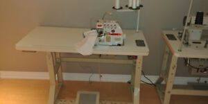 Industrial sewing machine -Kobe 4 Thread overlock(Serger) Sewing