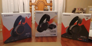Scellé/neuf! Steelseries headsets!