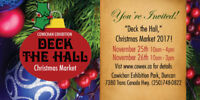"Cowichan Exhibition, ""Deck the Hall,"" Craft Market"
