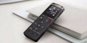 Sony 4GB Digital Voice Recorder (ICDUX560BLK) New