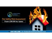 Fire Certificate | Fire Safety Certificate | Fully Qualified Engineers | Starting at £19.99
