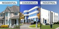 Cleaning Service Commercial-Industrial-Residential