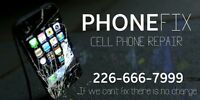 Cell Phone Repair 226-666-7999 Kitchener Waterloo Cambridge