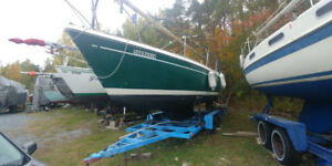 25' O'day Sailboat with trailer