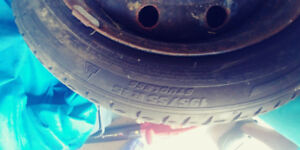 195/55/R15 winter tires and rim for sale